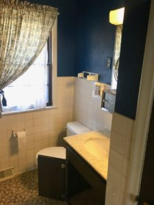 SIma Spaces bathroom renovation, DIY bathroom renovation, before and after bathroom renovation