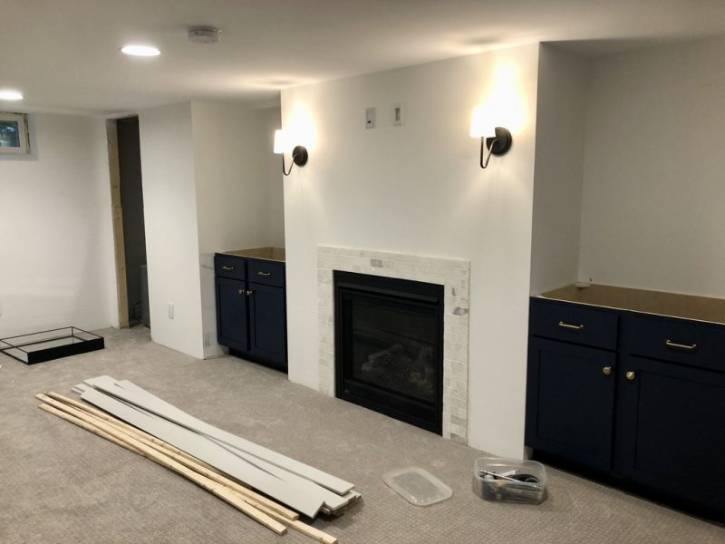 Sima Spaces Spring 2020 ORC: Basement Remodel in PRogress